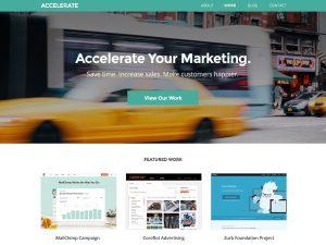 Accelerate Marketing screenshot