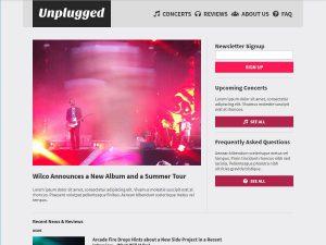 Unplugged desktop screenshot