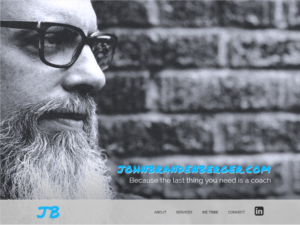 johnbrandenberger.com screenshot