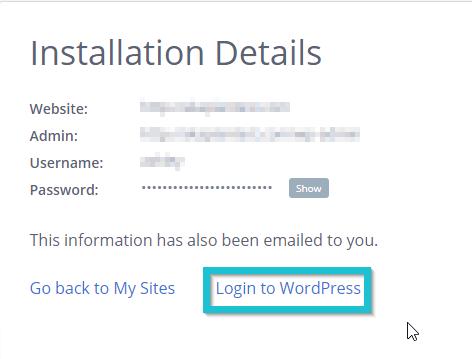 How to start a blog with Ashley Kaplan: Install WordPress
