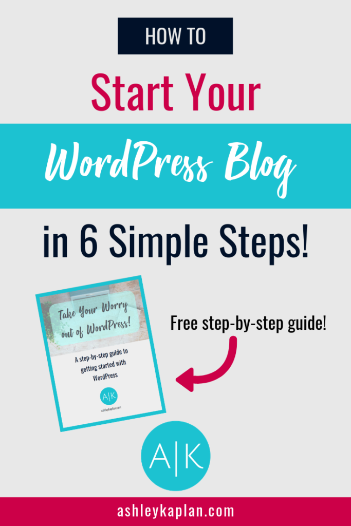 Are you ready to start a blog, but you have no idea where to actually START? This post is made just for you! I cover everything you need to know about how to start a blog in WordPress. From knowing your niche, to picking a domain and hosting, to choosing a theme and page builder, we'll cover it all!