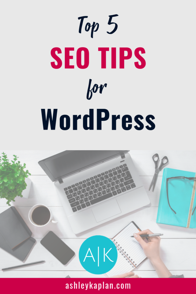 Are you struggling to drive traffic to your blog? Maybe it's time to check out your SEO. For those of you wondering: What's SEO, and why does it matter? I'll explain it all in this post! Here, I share my top 5 SEO tips for WordPress. If your blog is on SquareSpace or Wix, no worries! The technical details may vary, but the principles remain the same no matter which platform you use. Let's get going!